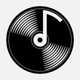 Icon music, music CD Stock Photo