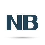 Icon NB note. Vector illustration. Stock Photo