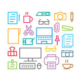 Icon object, vector Royalty Free Stock Images