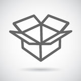 Icon open box royalty free illustration