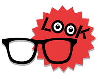 Icon optometrist Royalty Free Stock Photos
