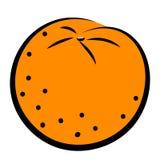 Icon of orange Royalty Free Stock Images