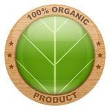 Icon of organic products Royalty Free Stock Photos