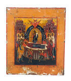 Icon of Orthodox Church Stock Image