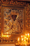 Icon in the Orthodox Church Royalty Free Stock Photography