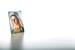 Icon of Our Lady of Medjugorje the Blessed Virgin Mary Royalty Free Stock Image