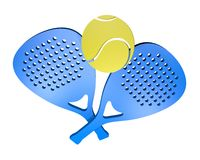 Icon paddle Royalty Free Stock Images