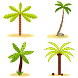 Icon palms. Flat design, illustration stock illustration