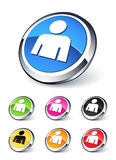 Icon people Royalty Free Stock Photos