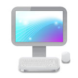 Icon for personal computer Stock Photography