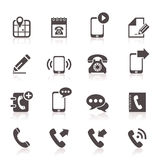Icon phone 5 Royalty Free Stock Photography