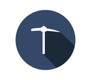 Icon pickaxe Royalty Free Stock Image