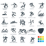 Icon Pictograms Set 6 Vector Illustration Royalty Free Stock Photography
