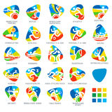 Icon Pictograms Set 4 Vector Illustration Royalty Free Stock Image