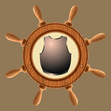 Icon pirate cuirass Stock Images