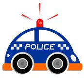 Icon police Royalty Free Stock Photos