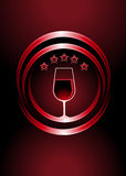Icon for premier vintage wines Royalty Free Stock Photo