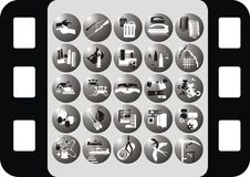 Icon on the profession Royalty Free Stock Images