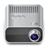 Icon for projector Stock Images