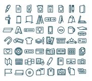 Free Icon Promotional Printing And Promotional Products Stock Image - 134022701
