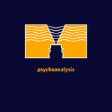 Icon of psychotherapy Royalty Free Stock Photo