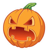 Icon pumpkin for Halloween Stock Photography