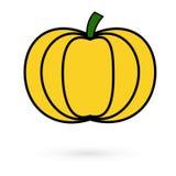 Icon pumpkin Raster 1 1 Royalty Free Stock Image