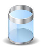 Icon for recycle bin Stock Photos