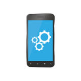 Icon for repair smartphones. Phone spare parts for repairs Stock Photos