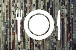 Concept of restaurant marketing, food delivery. stock images