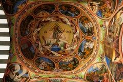 Icon in Rila Monastery royalty free stock photos