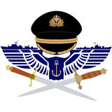 Icon Royal Navy Stock Photography
