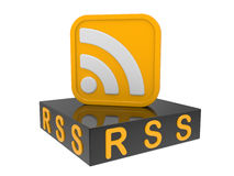 Icon RSS Stock Image
