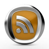 Icon rss Royalty Free Stock Images