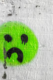 Icon sadness Stock Image