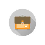 Icon schoolbags Stock Images