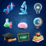 Icon science Stock Image