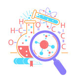 Icon Science Day Stock Images