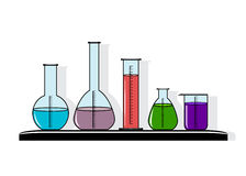 Icon science. Stock Photography