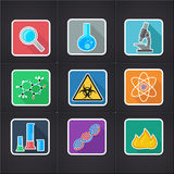Icon science Stock Images