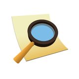Icon - Search Royalty Free Stock Photo