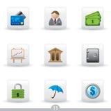 Icon series 11 - education Stock Photo