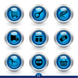 Icon series 11 - shopping Royalty Free Stock Image