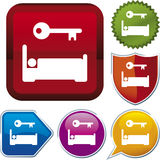 Icon series: accommodation Royalty Free Stock Photo