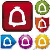 Icon series: bell Royalty Free Stock Image