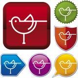 Icon series: bird Stock Image