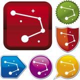 Icon series: constellation Stock Image