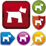 Icon series: dog Royalty Free Stock Photography