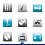 Icon series - entertainment Royalty Free Stock Photography