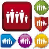 Icon series: family (vector) Stock Photos